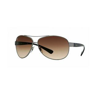 Ray Ban Aviator Style Brown Gradient Lens.